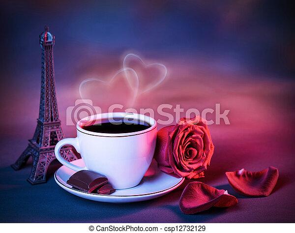 Valentine day still life - csp12732129