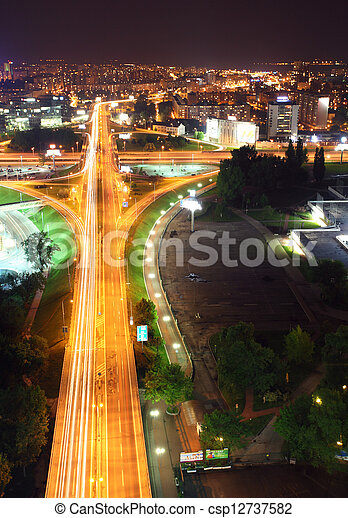 Bratislava - aerial view - csp12737582