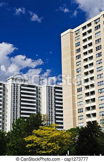 Apartment buildings - csp1273777