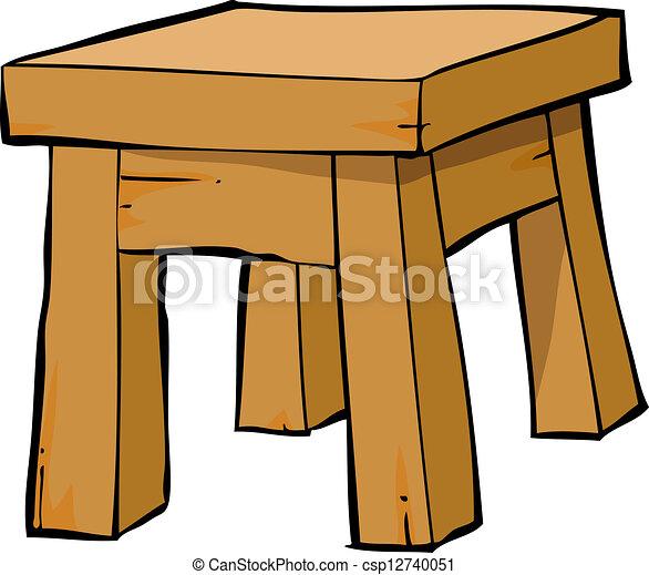 Chair Cartoon Drawing Cartoon Chair Csp12740051