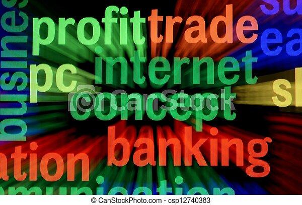 Profit trade banking - csp12740383