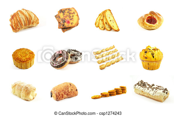 Baked Goods Series 4 - csp1274243