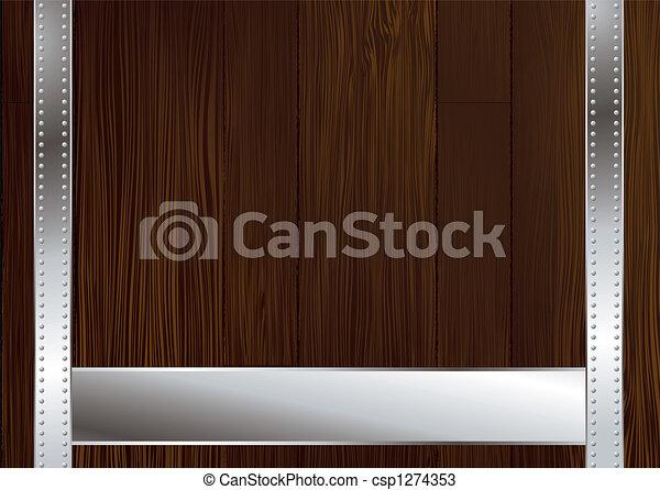 dark wood strap - csp1274353
