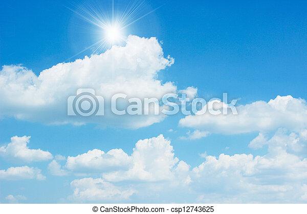 clear sky - csp12743625