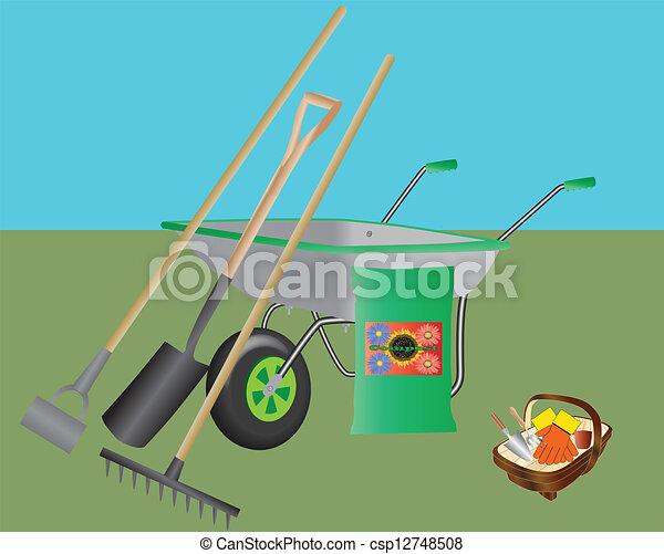 Gardening Tools - csp12748508