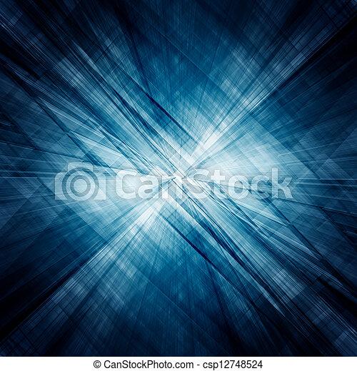 tunnel, abstrakt, arkitektur - csp12748524