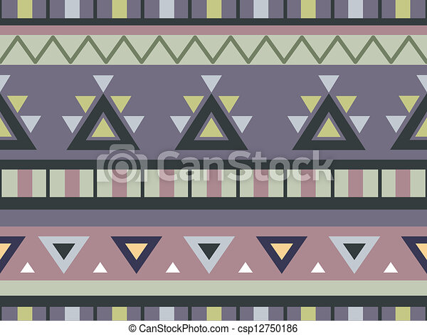 Aztec Print Drawings Aztec Print Background