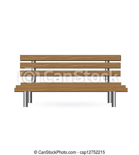 Vector - Vector Bench - stock illustration, royalty free illustrations ...
