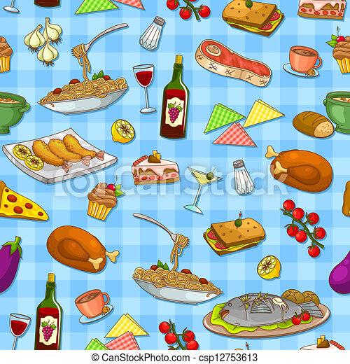 food pattern - csp12753613
