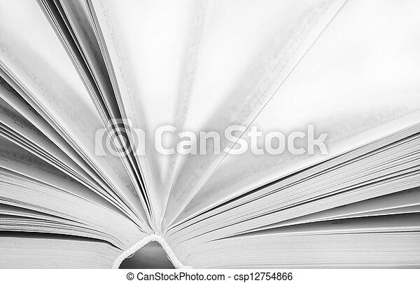 open book - csp12754866