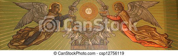 Eucharist - csp12756119