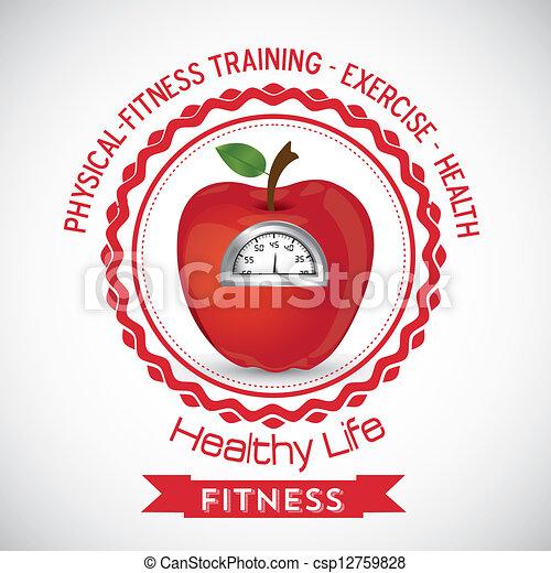 Fitness Icons - csp12759828