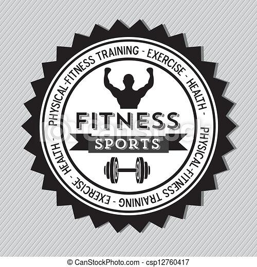 Fitness Icons - csp12760417