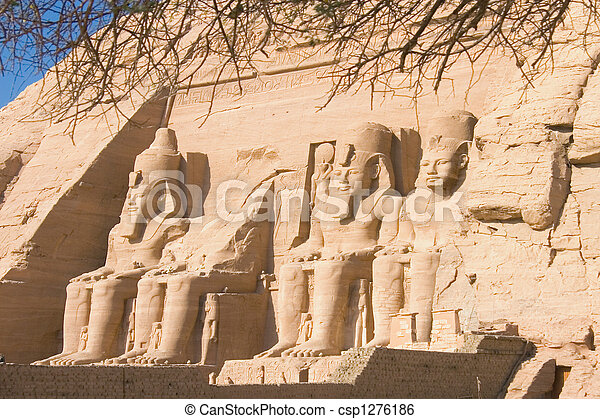 Temple of Abu Simbel - csp1276186
