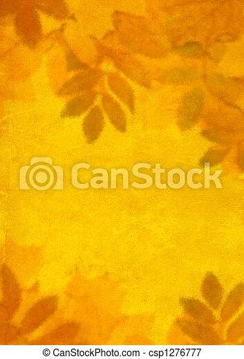 Autumn background - csp1276777