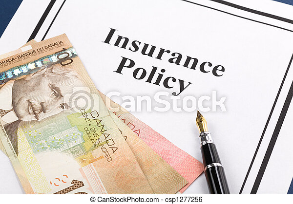 Insurance Policy - csp1277256