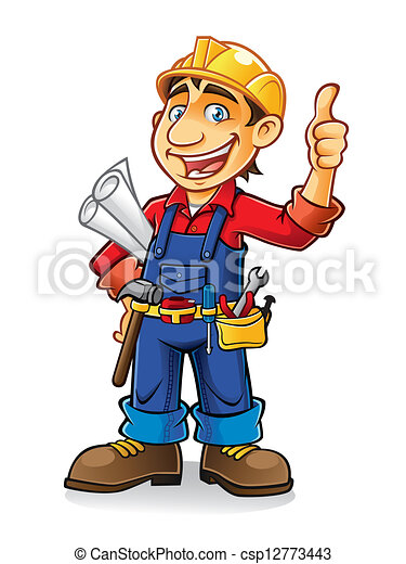 Construction worker - csp12773443