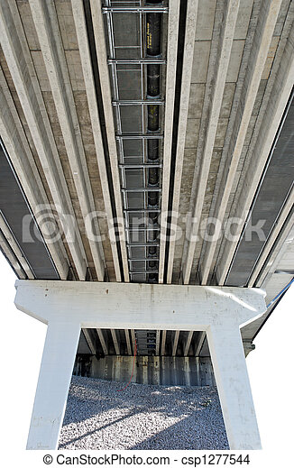 Under Highway Bridge  - csp1277544