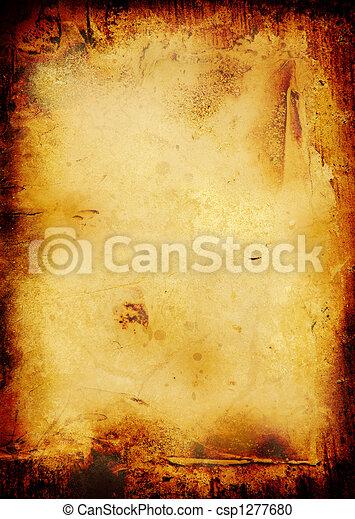 burnt scroll - csp1277680