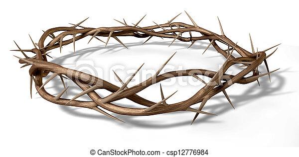 A Crown Of Thorns - csp12776984