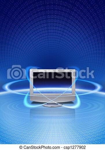 Multimedia magic technology - csp1277902