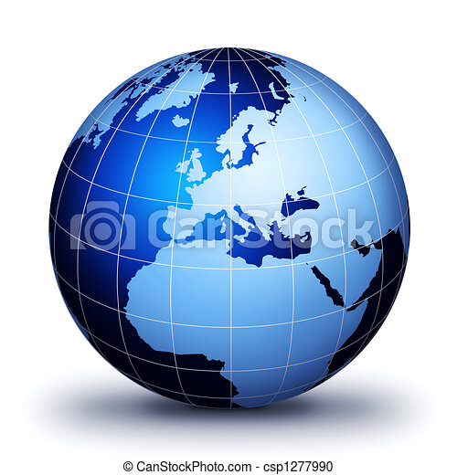 Only World Globe! - csp1277990