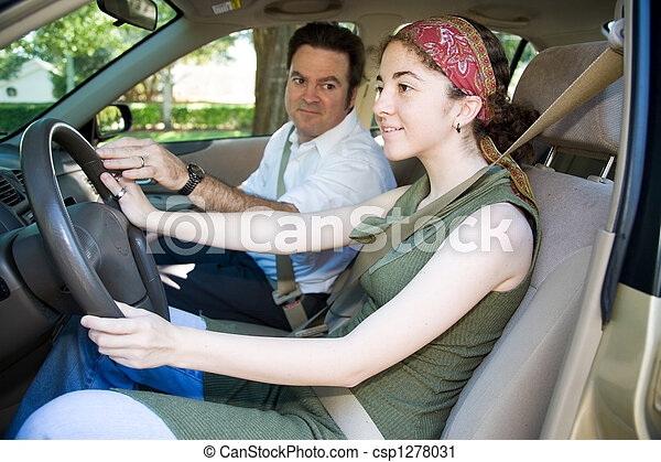 十代, 運転手, 教育 - csp1278031