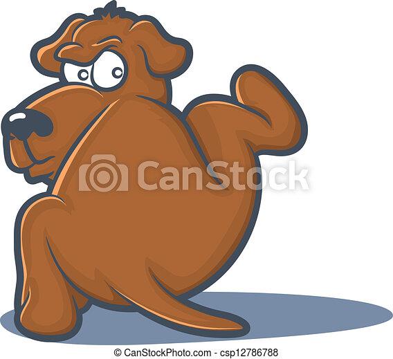 Perro clip art de peeing