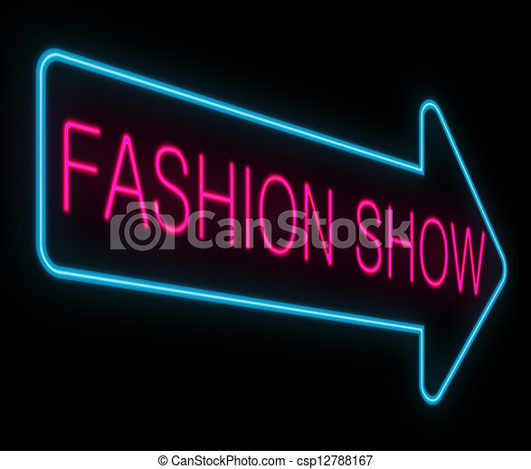 Clip Art Fashion Show Clip Art fashion show clipart and stock illustrations 14044 concept illustration depicting a neon