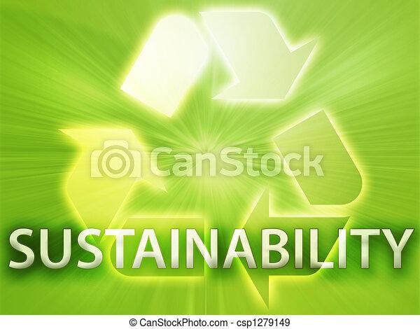 Recycling symbol - csp1279149