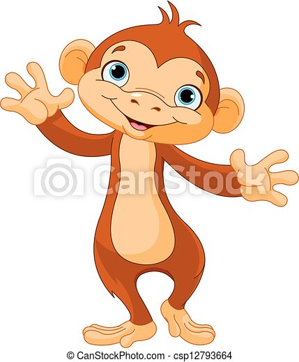 Baby monkey - csp12793664