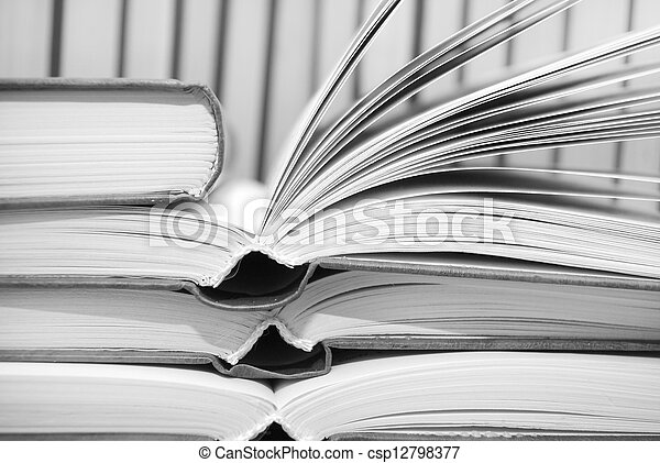 open books - csp12798377