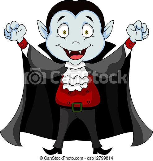 Clip art vecteur de vampire dessin anim vector - Dessins de vampires ...