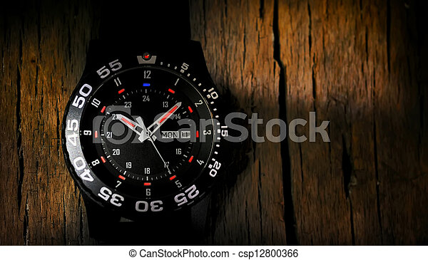 Tritium military watch - csp12800366