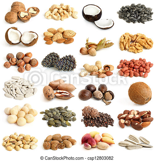 Nuts collection - csp12803082