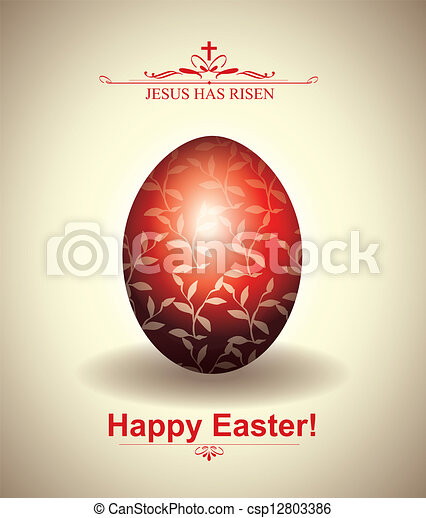 Easter Card - csp12803386