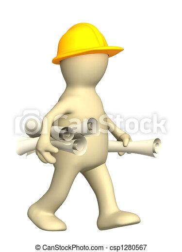 3d builder with rolls - csp1280567