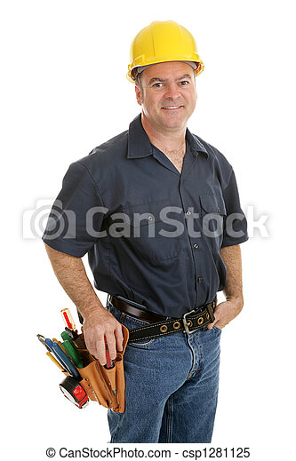 Average Construction Worker - csp1281125