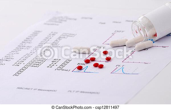 relatório, médico - csp12811497