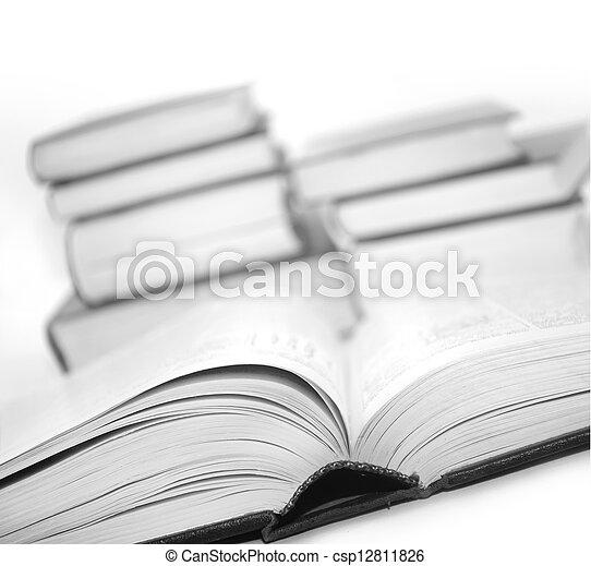 open books - csp12811826