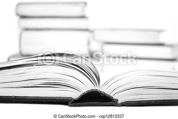 open books - csp12812337