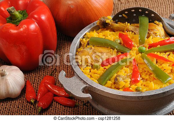 Typical cuban food - csp1281258