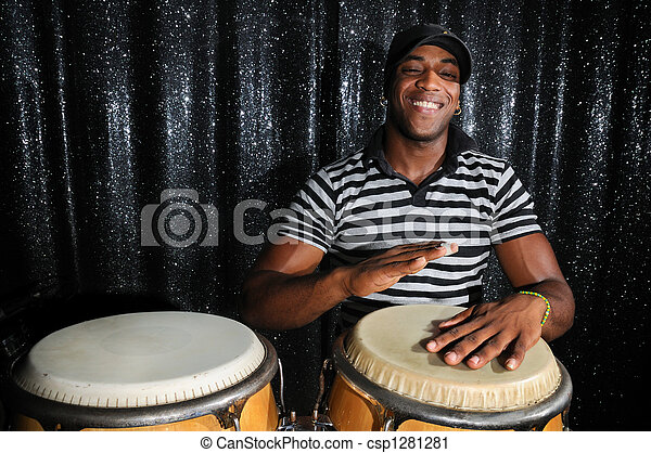Cuban percussionist