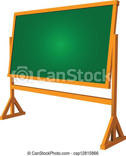 Clip art vecteur de tableau noir cole cole tableau noir pratique csp12815866 - Tableau d ecole mural ...