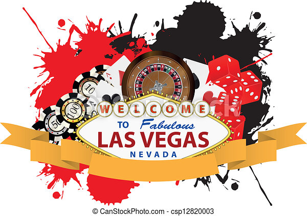 Clip Art Vegas Clip Art vegas illustrations and stock art 14849 illustration las ribbon of with yellow