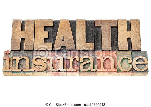 health insurance - csp12820943