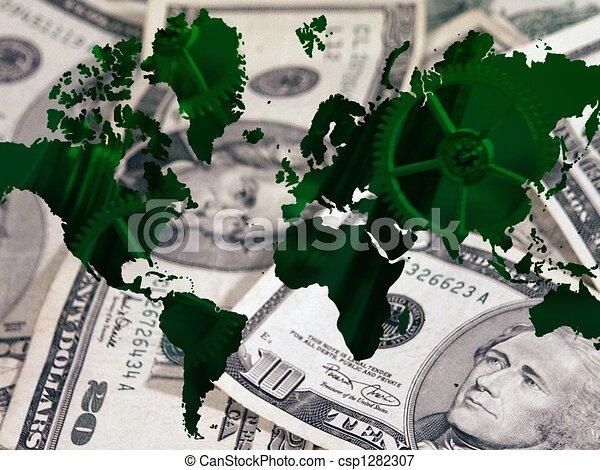 World Economy - csp1282307