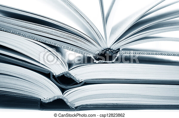open books - csp12823862