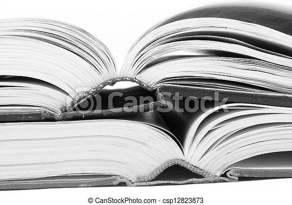 open books - csp12823873