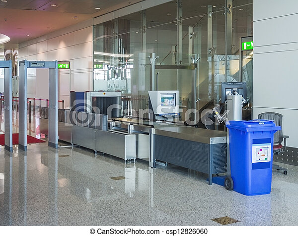 Airport security checkpoint - csp12826060